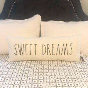 Rae Dunn Sweet Dreams Lumbar Pillow